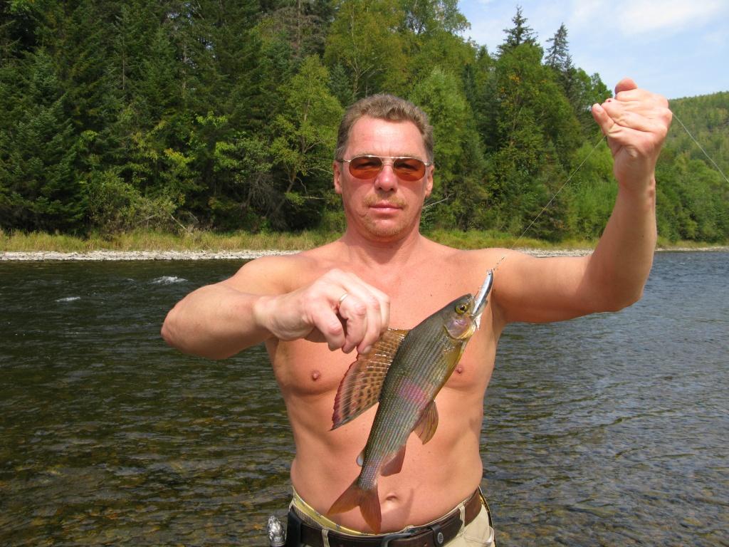 места ловли ленка на реке